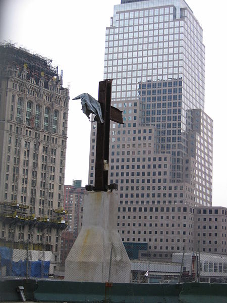 World Trade Center Cross at Necklace Crosses -  Pictures of Crosses.com