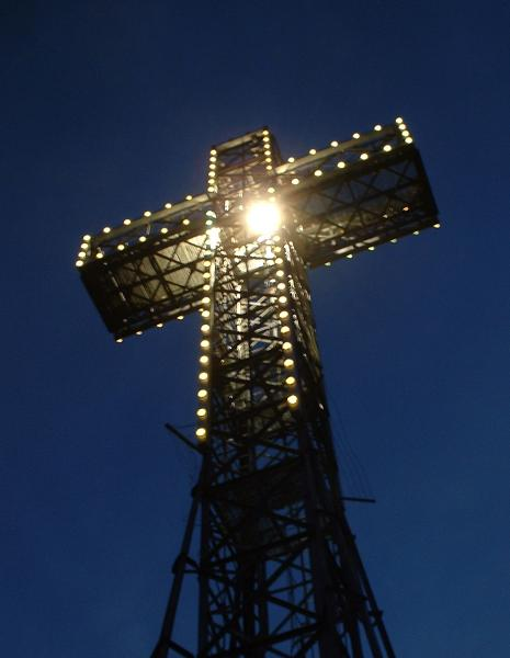 Cross Atop Mount Royal