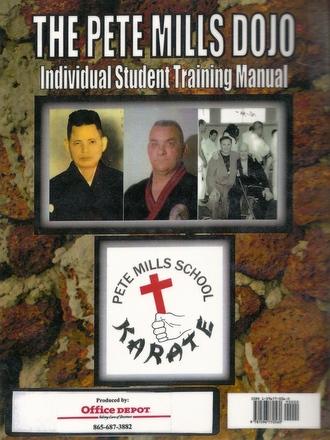 Isshinyru Karate Student Training Manual (Back Cover)