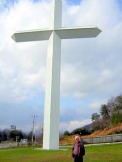 Large Beautiful Cross - Built by Jim Potter